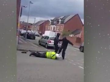 Agresión a un Policía en Reino Unido