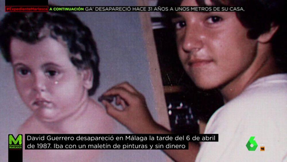 David Guerrero, el 'niño pintor'