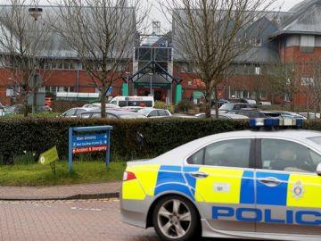 Hospital de Salisbury donde fueron atendidos