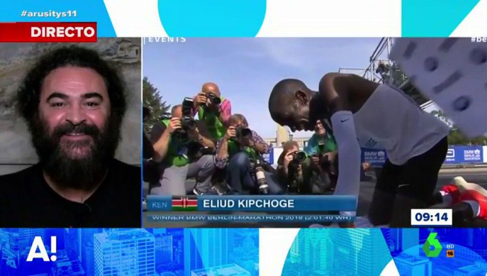 El Sevilla comenta el récord de Eliud Kiochoge