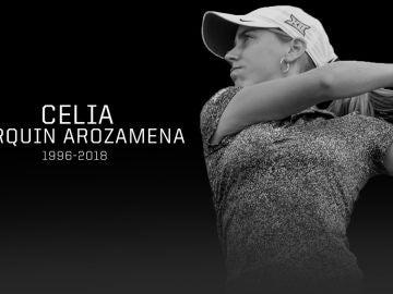La golfista española Celia Barquín
