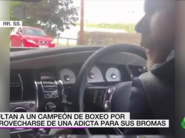 """Multan a un boxeador con más de 100.000 euros por mofarse de una adicta: """"Te doy droga si pegas a ese pedófilo"""""""