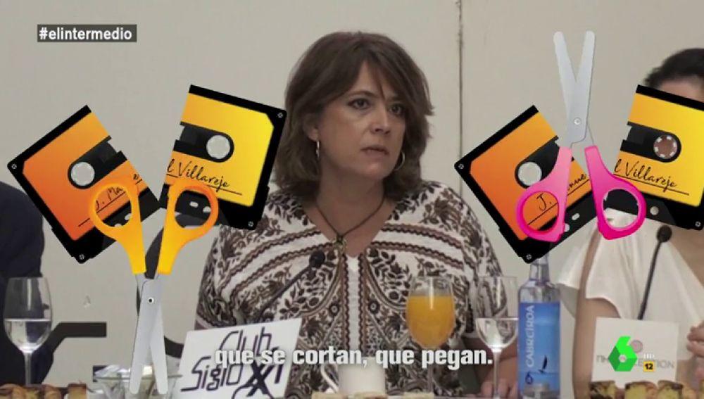 """""""Las grabaciones se cortan y se pegan. Se ponen y se quitan"""": el pegadizo temazo con el que la ministra Delgado defiende su inocencia"""