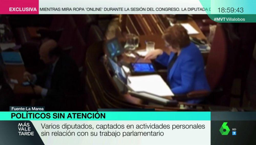 Celia Villalobos y sus pilladas en el Congreso: recordamos la pillada que le hicieron jugando al Candy Crush