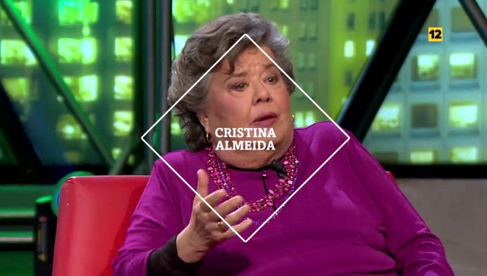 Cristina Almeida visita laSexta Noche