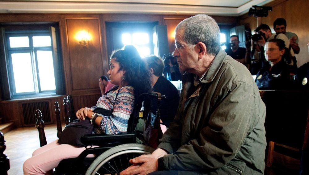 Miguel Rosendo,en la imagen, en el banquillo de la Audiencia de Pontevedra