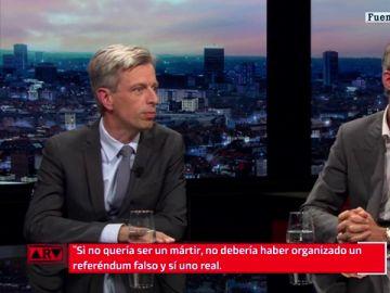 El 'dardo' directo de un periodista belga a Puigdemont
