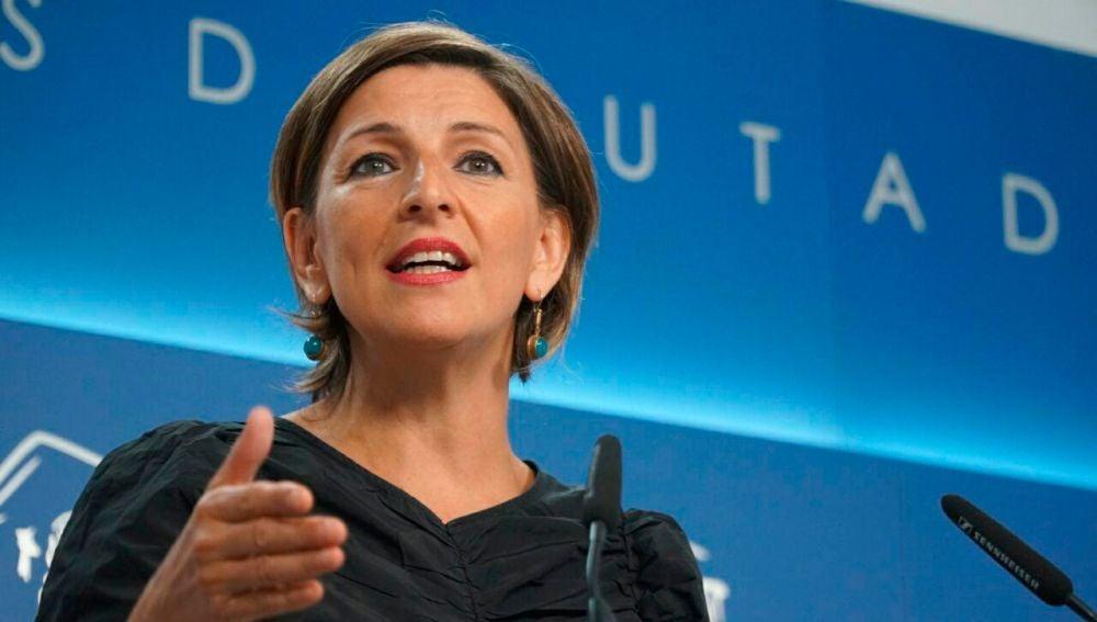 Yolanda Díaz, portavoz En Marea