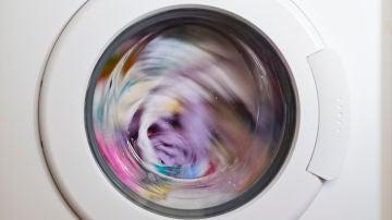 Lavadora de ropa de color