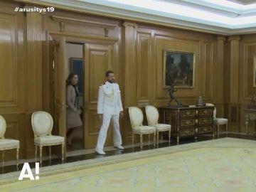 El pequeño traspiés de la reina Letizia