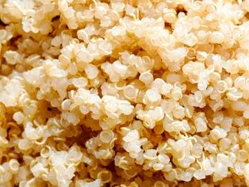 Imagen de archivo de Quinoa cocinada