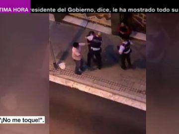 Acusan a los mossos de brutalidad policial