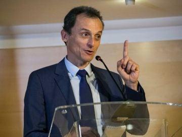 """Noticias 1 Antena 3 (27-09-18) Pedro Duque niega irregularidades en su sociedad patrimonial: """"Pienso que no hay ninguna consideración ética sobre esto"""""""