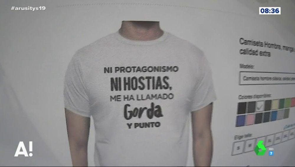 Camiseta Montero