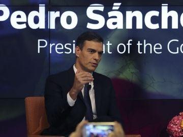 Pedro Sánchez en Nueva York