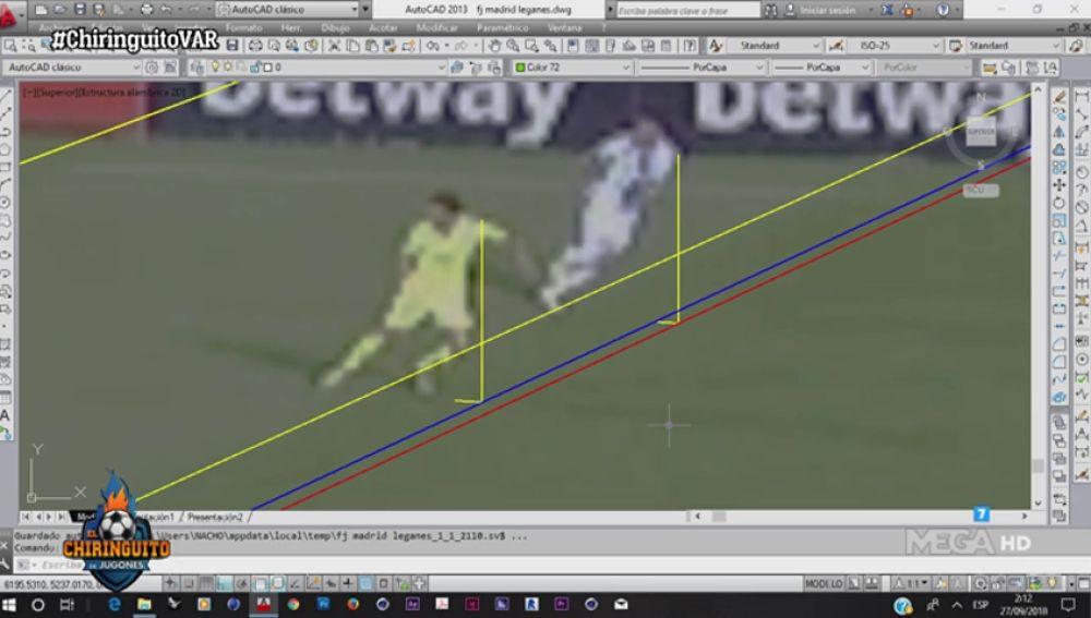 Escándalo con el VAR: el primer gol del Leganés sería en fuera de juego