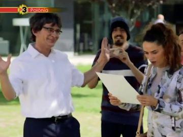 Así es el Puigdemont de Pòlonia, TV3