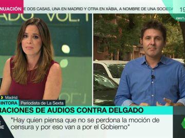 """Jesús Cintora, sobre las grabaciones de la ministra Delgado: """"Este Gobierno parecía un 'dream team', pero tiene algunas goteras"""""""