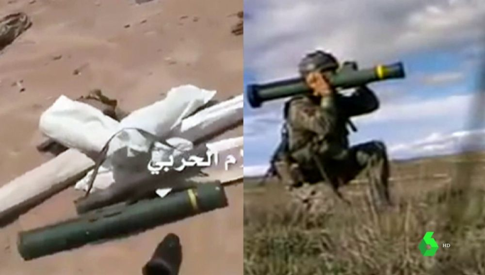 Las imágenes que demuestran que las armas Españolas son usadas en un país que viola los Derechos Humanos
