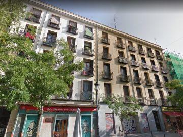 Edificio con orden de desahucio en la calle Argumosa