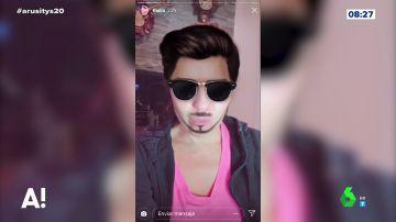 Thalia se divierte con los filtros de Snapchat