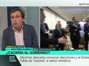 Martínez-Almeida en Más Vale Tarde