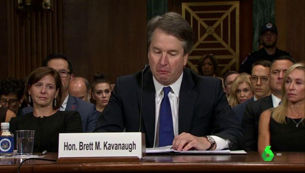 Imagen del juez Kavanaugh, respaldado por Trump para el Supremo de EEUU