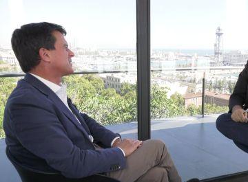 Entrevista a Manuel Valls en Al Rojo Vivo