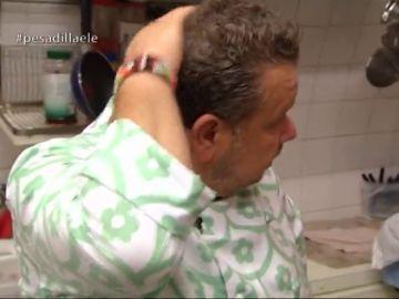 Alberto Chicote en el restaurante 'ELE'