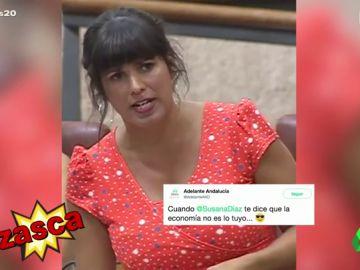 El zasca de Teresa Rodriguez a Susana Díaz