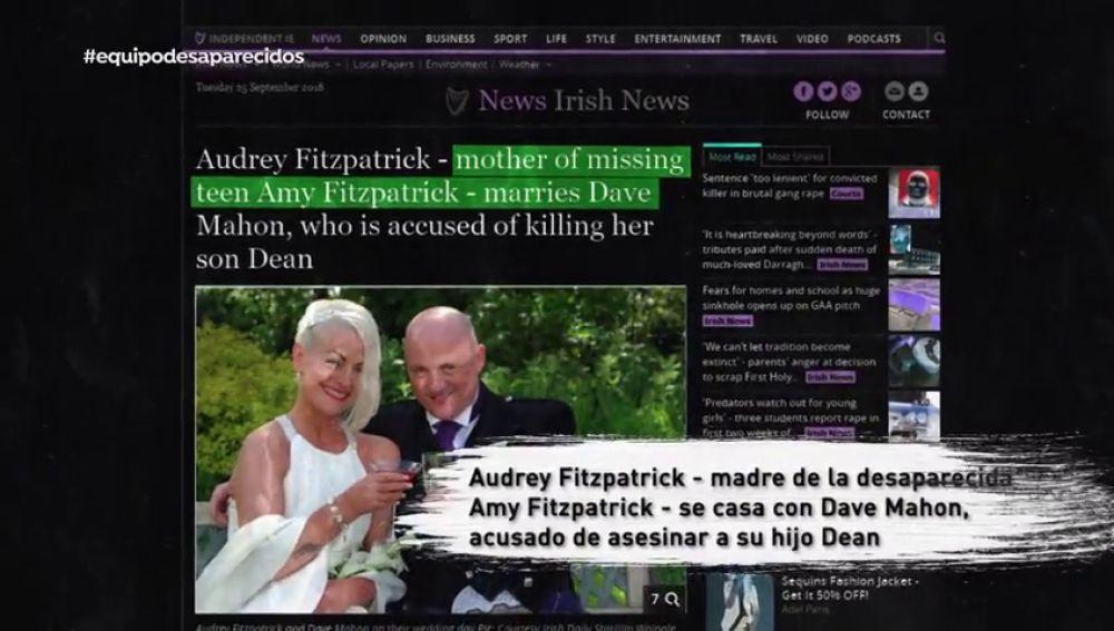 """El padrastro de Amy, desaparecida desde 2008, fue condenado por matar su hermano: """"Alguien sacó un cuchillo y acabó muerto"""""""
