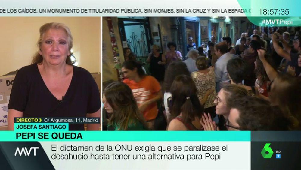 Entrevista a Pepi Santiago
