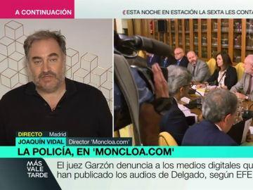 Joaquín Vida, director del moncloa.com