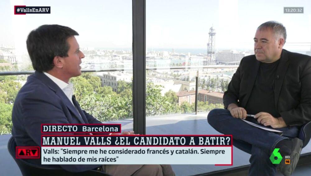 """Manuel Valls: """"Quien me acusa de ser el candidato de los ricos no ha hecho nada por los barceloneses en situaciones duras"""""""