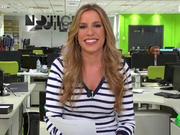 """Paula del Fraile desvela el misterio de """"las pisadas tenebrosas"""" que se cuelan en el directo de Arusitys"""