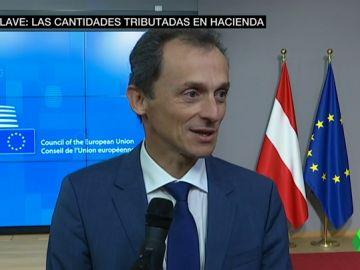 """Pedro Duque se pone en manos de Hacienda: """"Los asesores están viendo si hay algún tipo de irregularidad"""""""