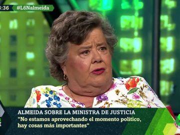 Cristina Almeida en laSexta Noche