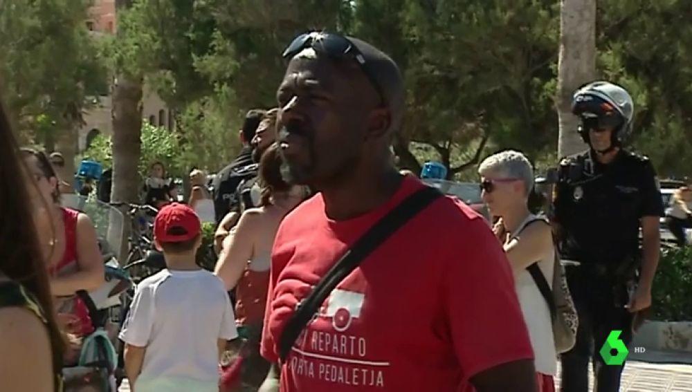 Concentración contra el racismo en Valencia