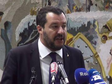 El ministro del Interior italiano, Matteo Salvini