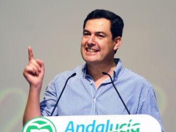 Juanma Moreno, líder del PP en Andalucía