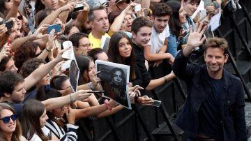 Bradley Cooper en el Festival de San Sebastián