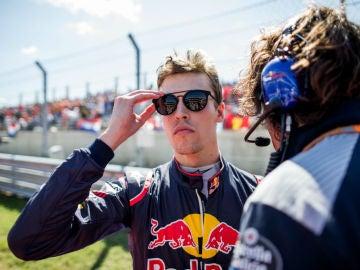 Daniil Kvyat, con Toro Rosso