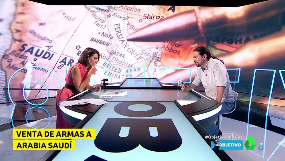 Pablo Iglesias, en El Objetivo