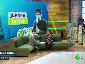 Juanra Bonet y Cristina Pardo