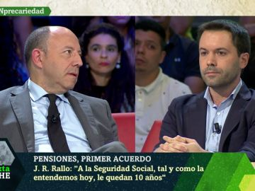Gonzalo Bernardos y Juan Ramón Rallo
