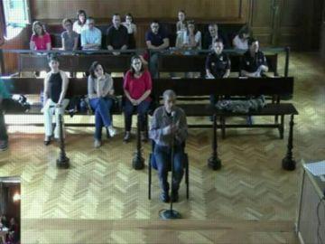 Miguel Rosendo en el juicio