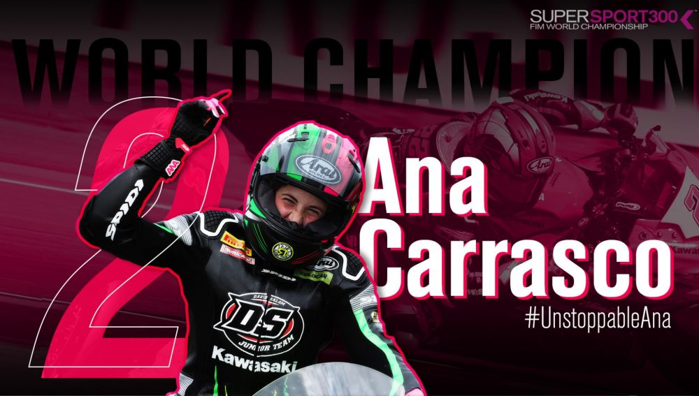 Ana Carrasco, campeona de Supersport 300