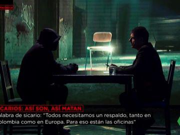 Manuel Marlasca entrevista a un sicario