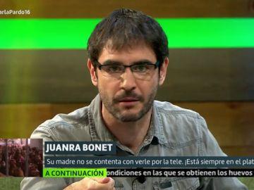 Juanra Bonet en Liarla Pardo