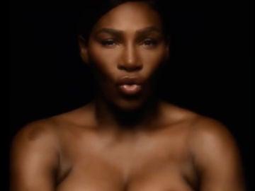 Serena Williams en una campaña contra el cáncer de mama
